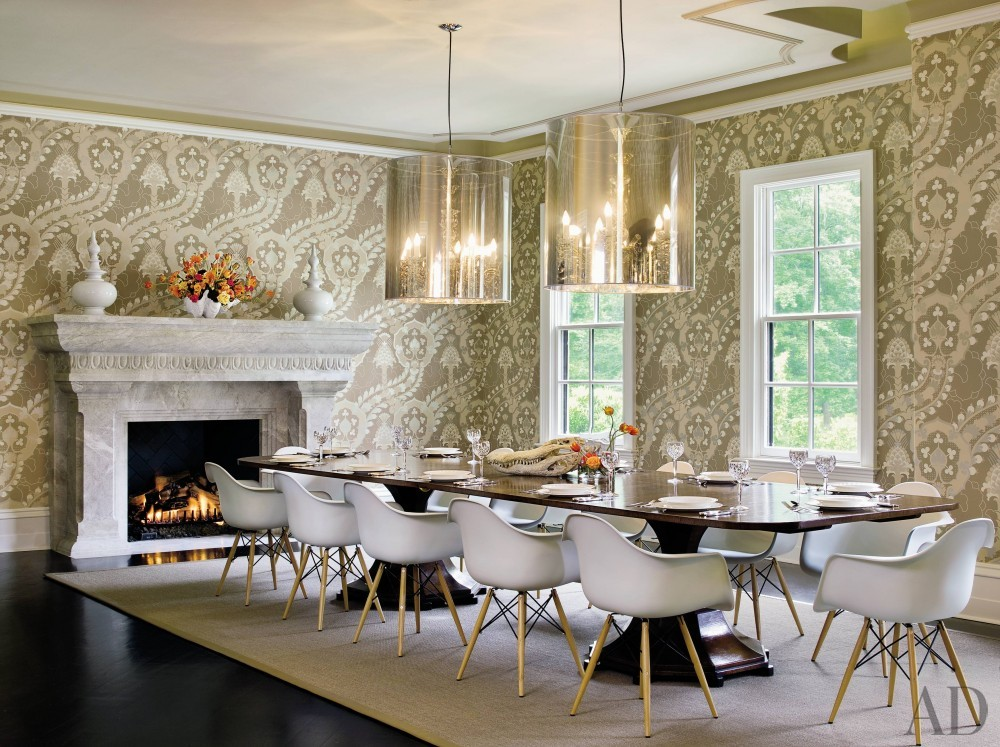 Contemporary Dining Room and Bradley C. Touchstone in Tallahassee, Florida