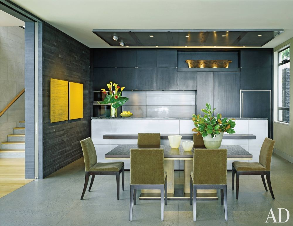 Contemporary Dining Room By Terry Hunziker Inc By