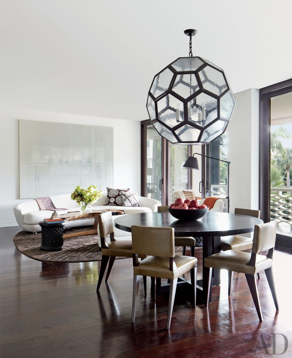 Contemporary Dining Room by Tsao & McKown Architects and Tsao & McKown Architects in Palm Beach, Florida