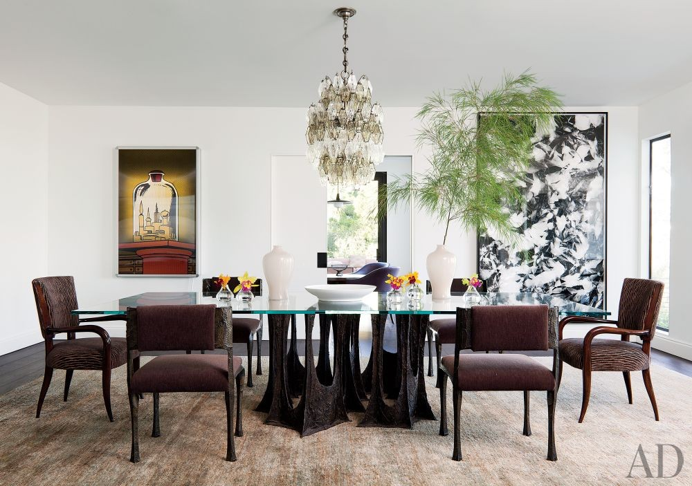 Contemporary Dining Room by Waldo\'s Designs and Rios Clementi Hale Studios in Los Angeles, California