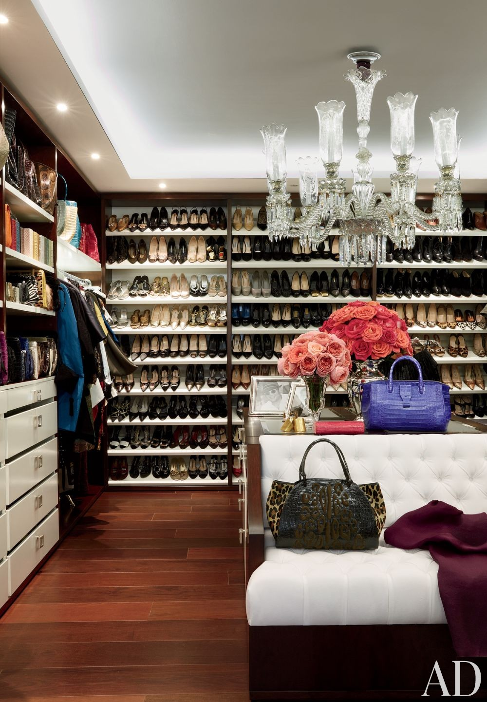Contemporary Dressing RoomCloset By JeanLouis Deniot By - Dressing room designs in the home