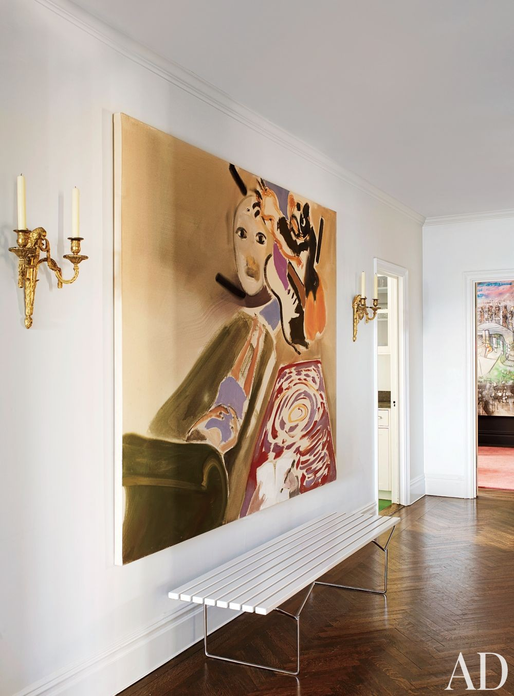 Contemporary Entrance Hall in New York City