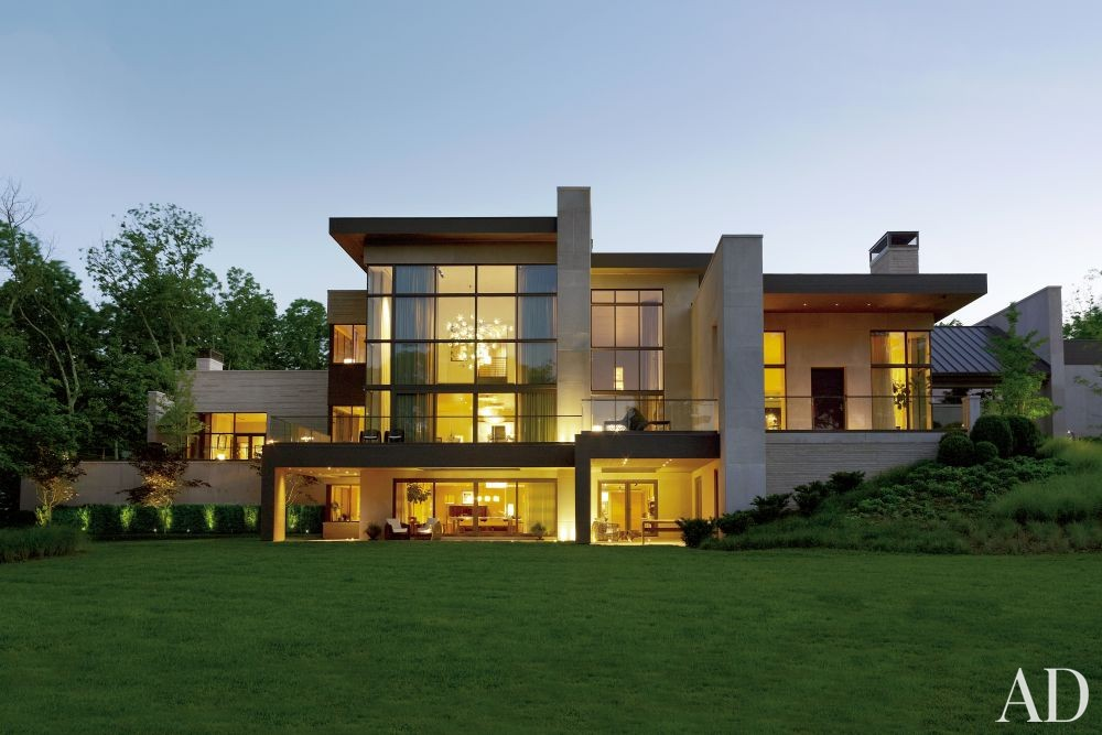 Contemporary Exterior by McAlpine Booth & Ferrier Interiors and DA|AD in Nashville, Tennessee