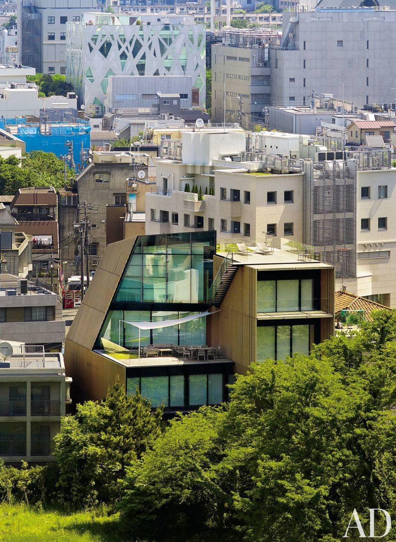 Contemporary Exterior by Mlinaric, Henry & Zervudachi and Kengo Kuma & Associates in Japan