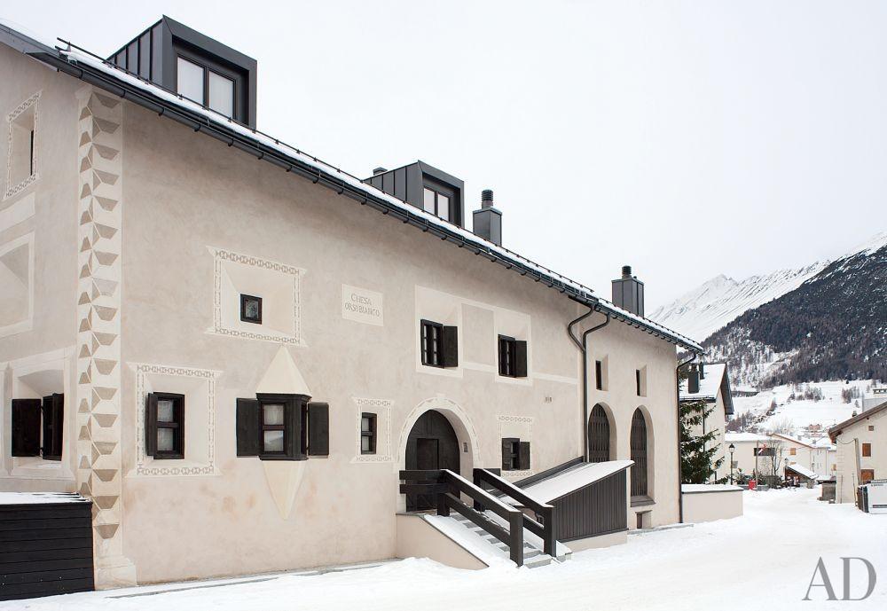 Contemporary Exterior in Saint Moritz, Switzerland