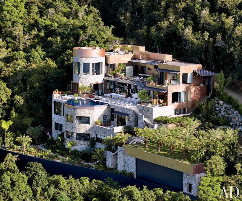Contemporary Exterior by Tony Ingrao and Randy Kemper in St. John, U.S. Virgin Islands
