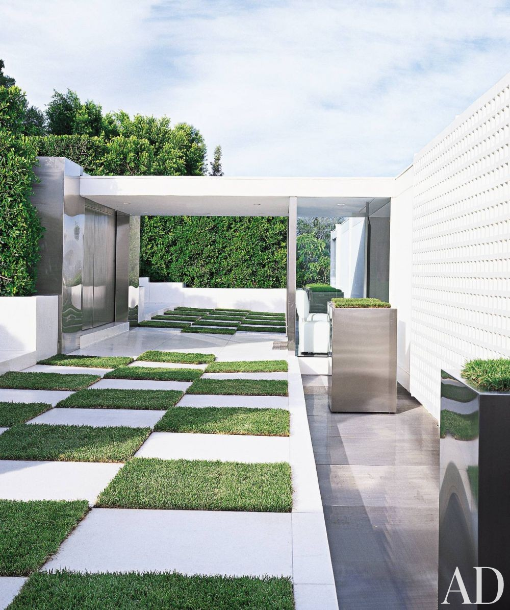 Garden Decor Los Angeles: Contemporary Garden By Charles Allem By Architectural