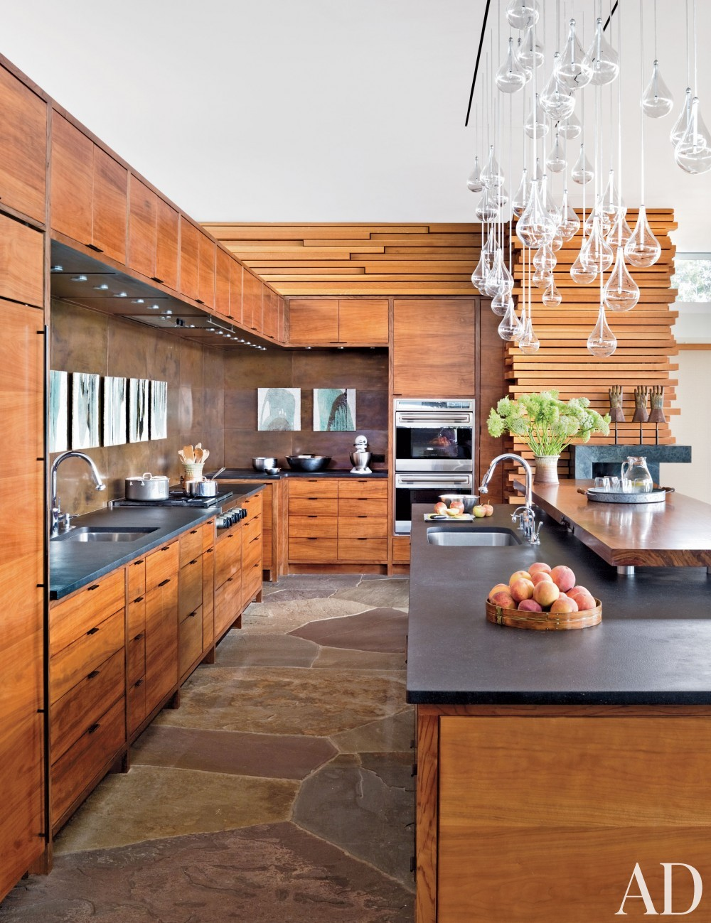 Contemporary Kitchen and Gluck+ in Blue Ridge Mountains, NC