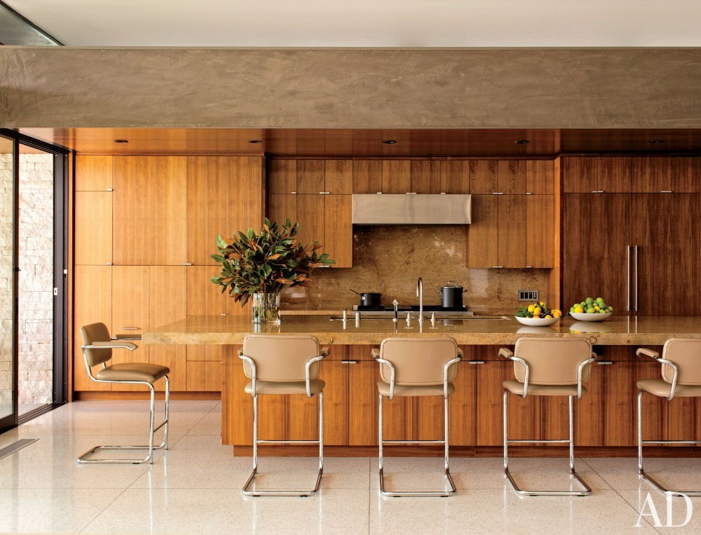 Contemporary Kitchen by Boehm Design Associates and Marmol Radziner in Beverly Hills, California