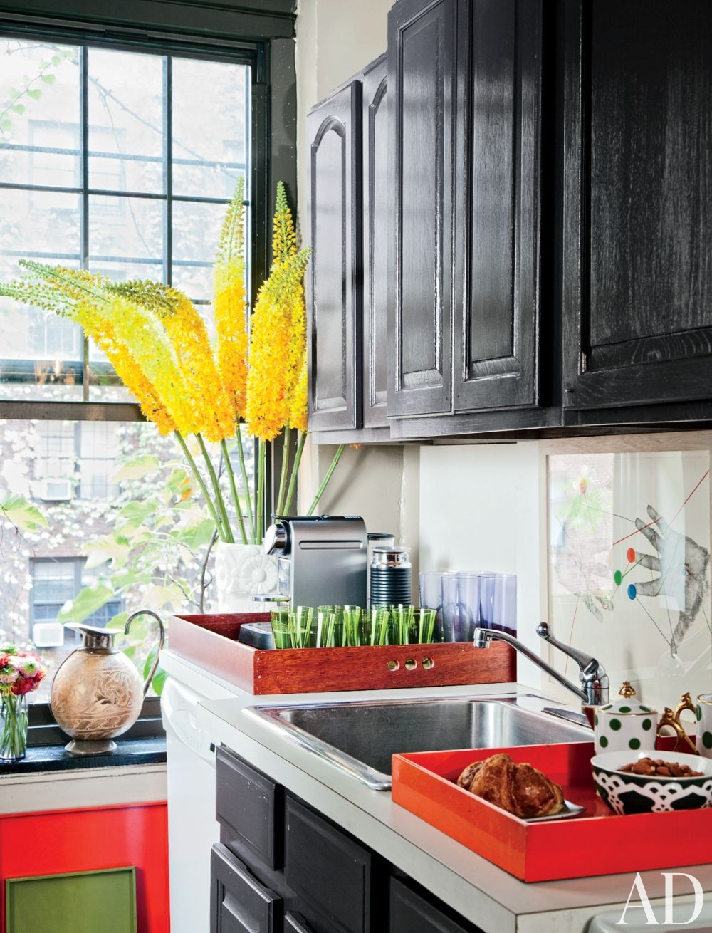 Contemporary Kitchen by Carlos Mota in New York, New York