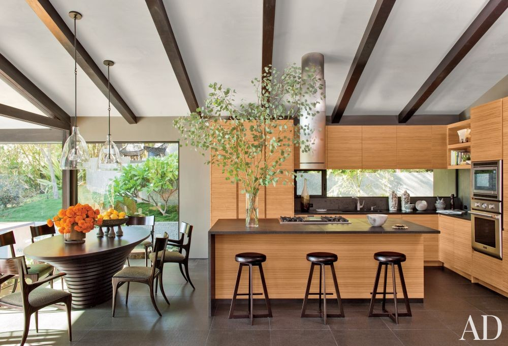 Contemporary Kitchen by Desiderata Design in Los Angeles, California