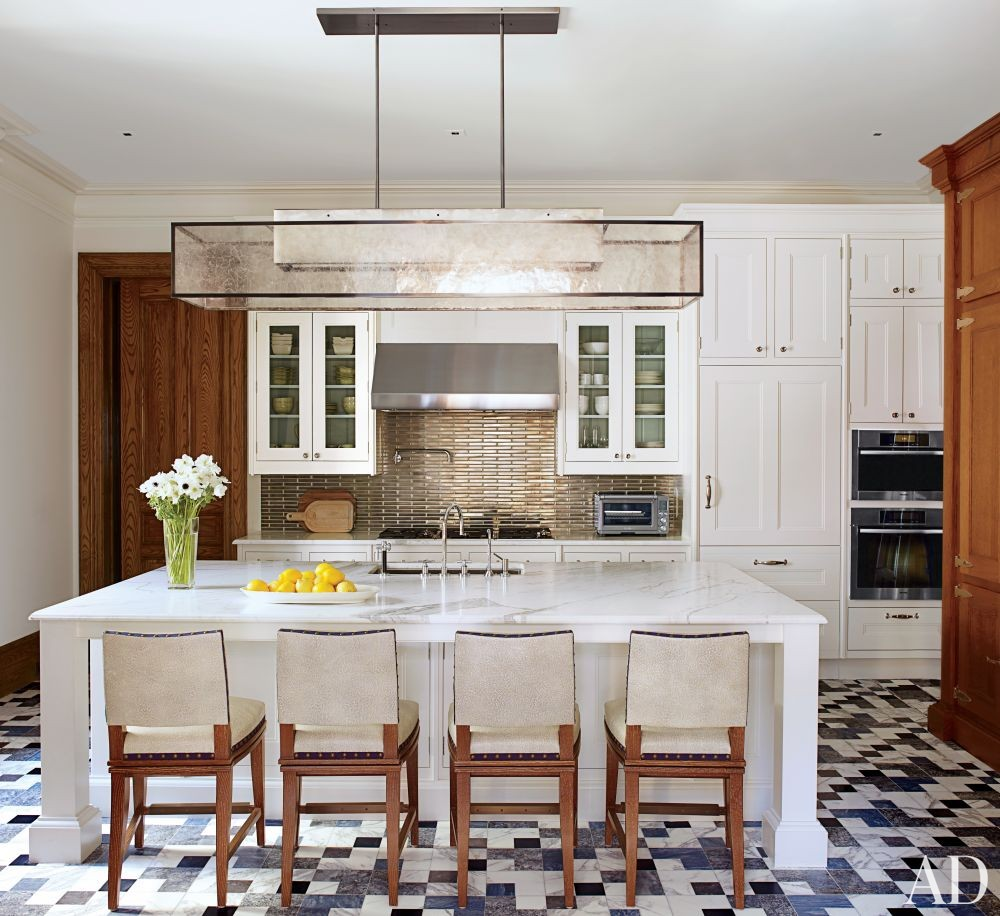 Contemporary Kitchen by Drake Design Associates in New York, New York