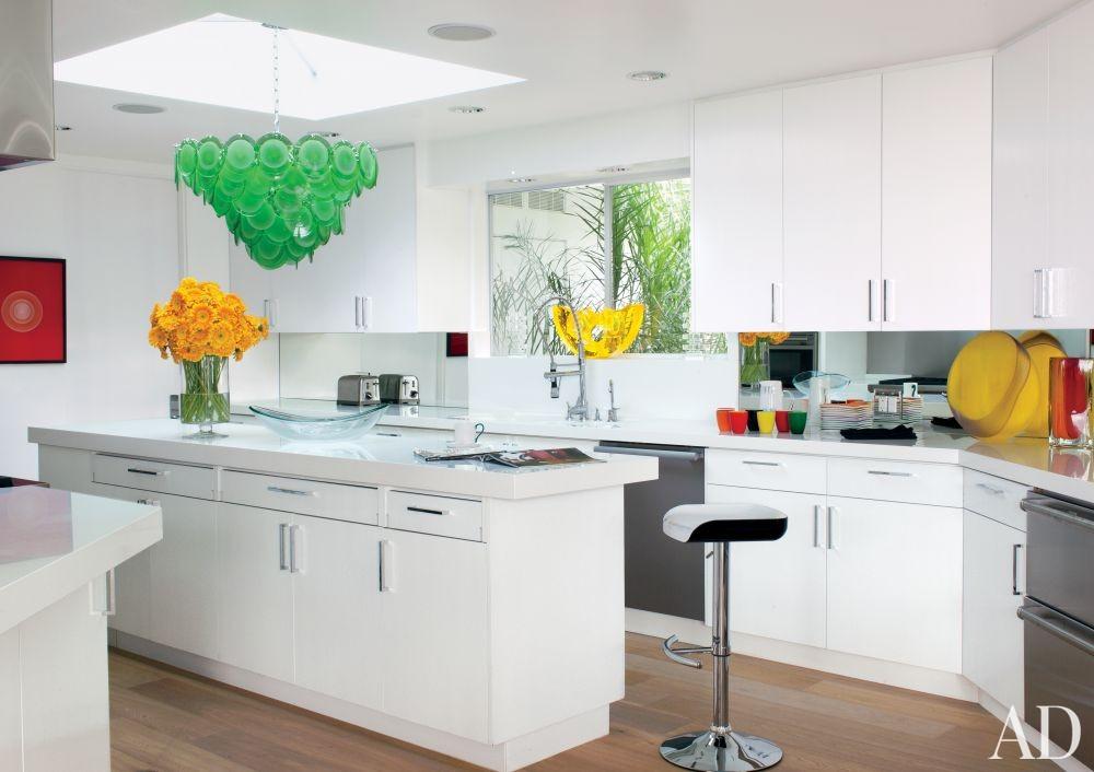 Contemporary Kitchen by Martyn Lawrence Bullard Design in Los Angeles, California