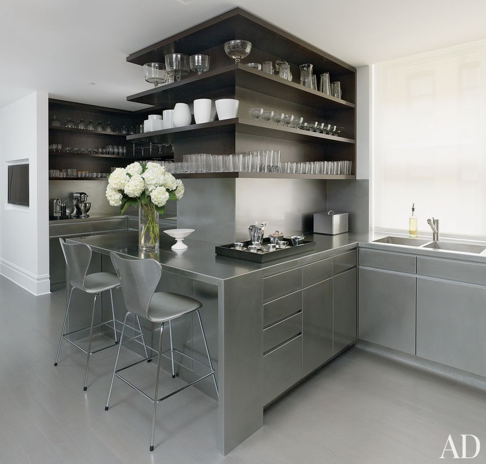 Contemporary Kitchen By MR Architecture Decor In New York New York
