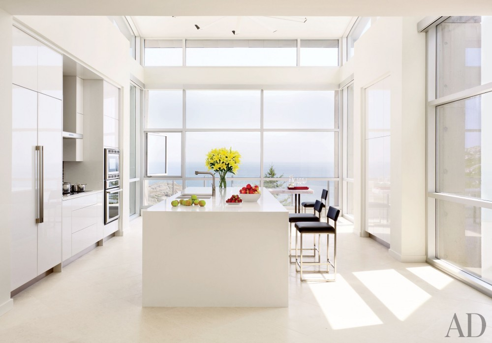 Contemporary Kitchen By Ray Frizzell Design By Architectural Digest Ad Designfile Home