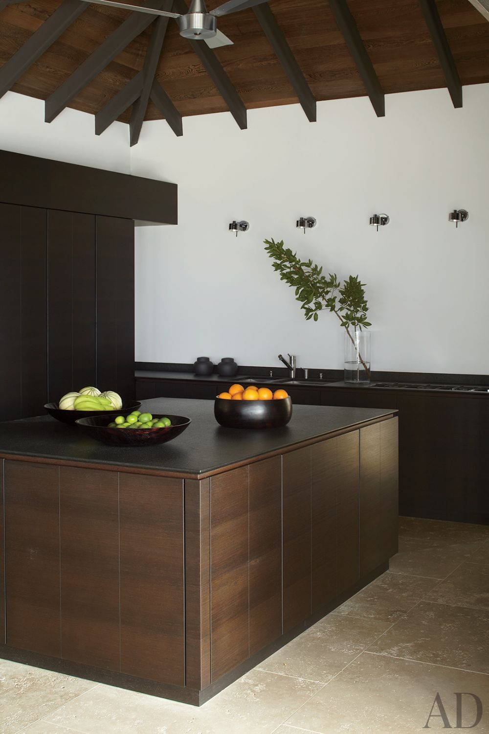 Contemporary Kitchen and Wolfgang Ludes and Johannes Zingerle in St. Barts