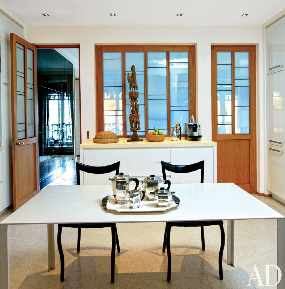 Contemporary Kitchen by Veronica Toub and Laurent Bourgois in Paris, France