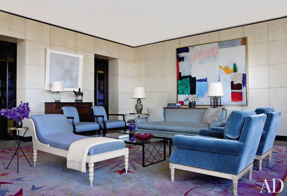 Contemporary Living Room by Aparicio + Associates in New York City
