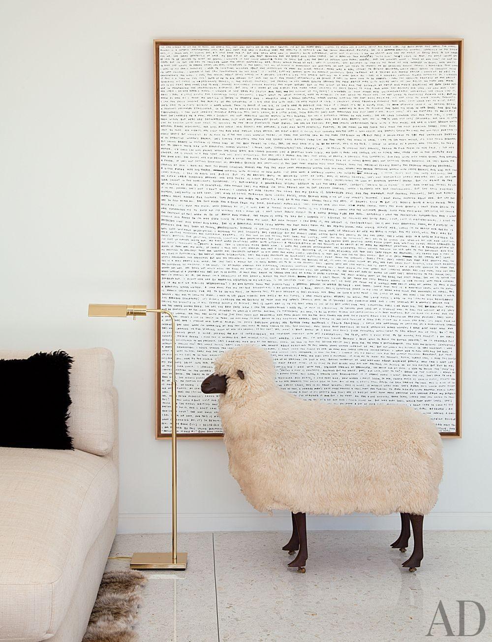 Contemporary Living Room by Daniel Romualdez in Los Angeles, California