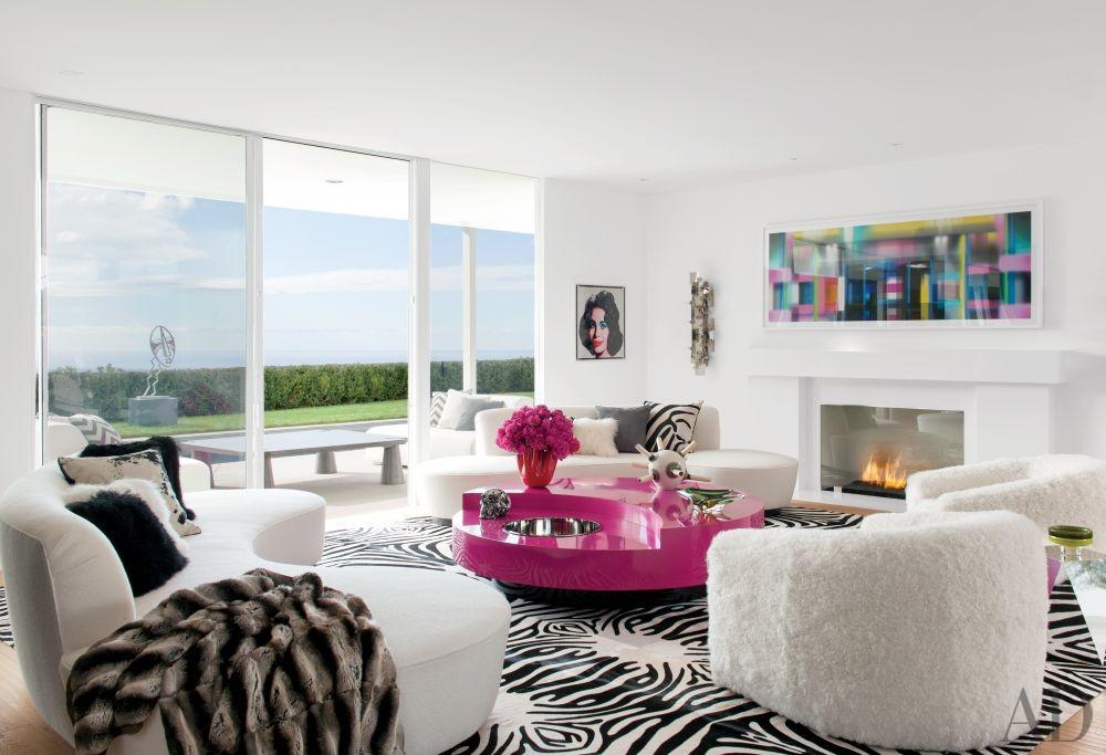 Contemporary Living Room by Martyn Lawrence Bullard Design in Los  Angeles, California