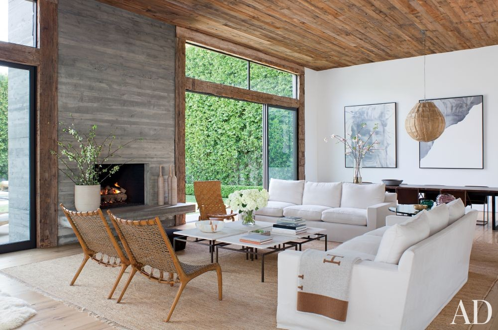 Contemporary Living Room By Standard Architects By Architectural Digest Ad Designfile Home
