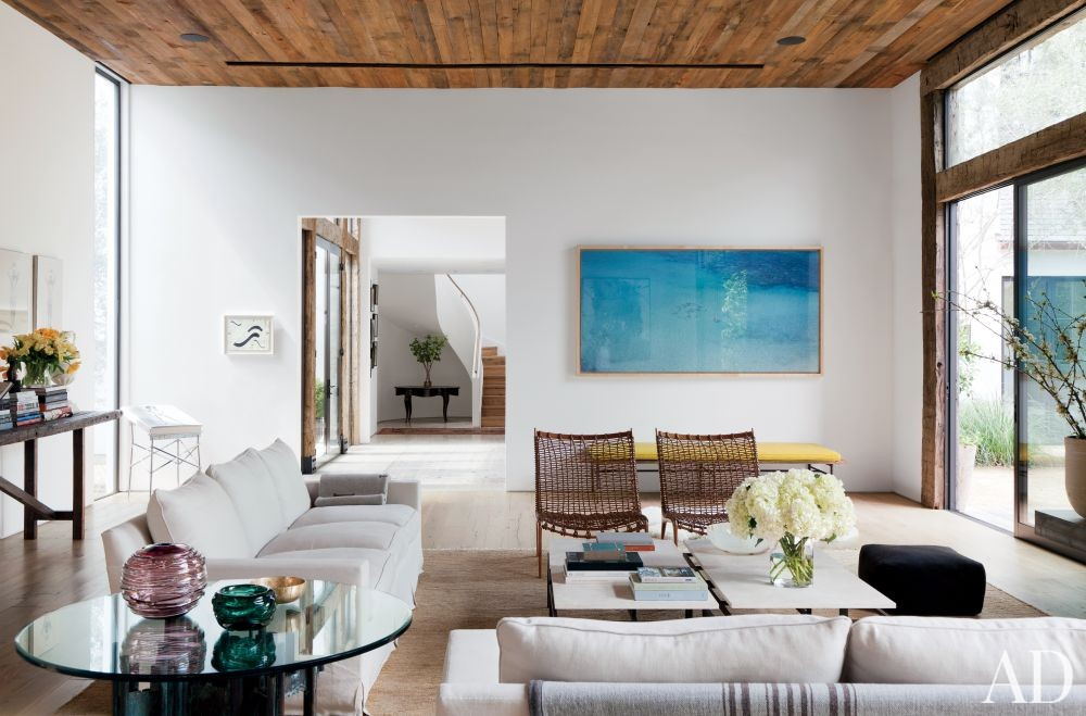 Contemporary Living Room by Standard in Beverly Hills, California
