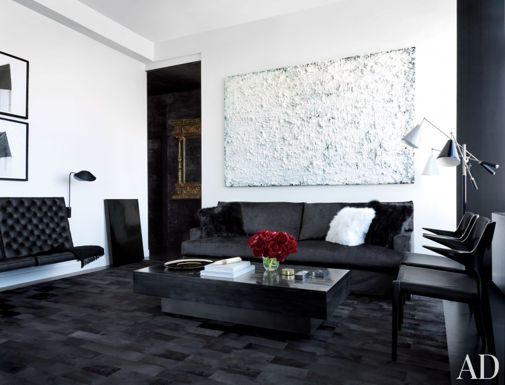 Contemporary Living Room by MR Architecture + Decor in New York, New York