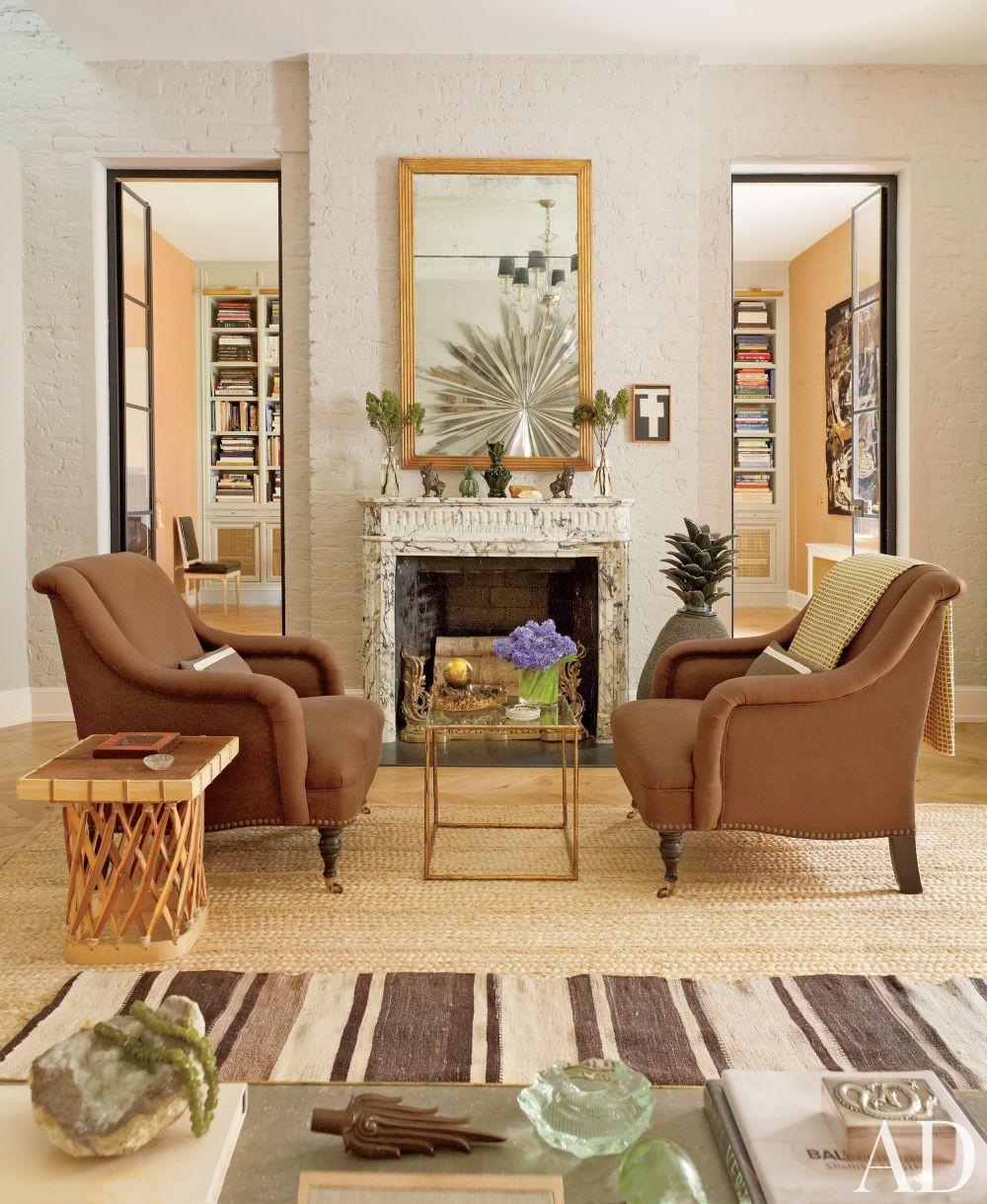 Contemporary Living Room by Nate Berkus in New York, New York