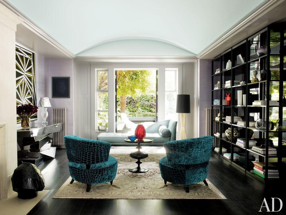 Contemporary Living Room by Rafael de Cárdenas Ltd./Architecture at Large in London, England