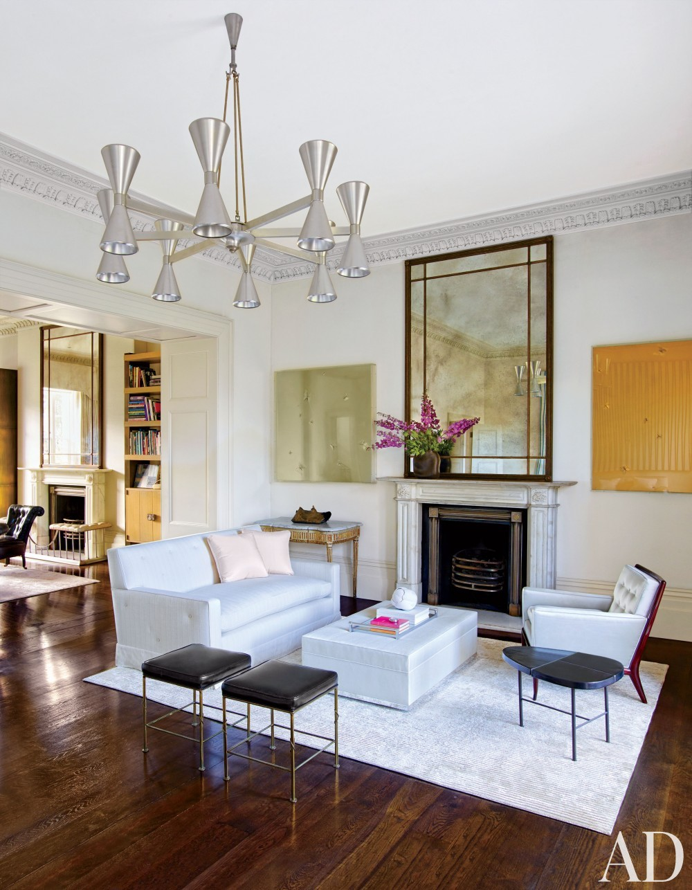 Contemporary living room by veere grenney by architectural for Interior digest
