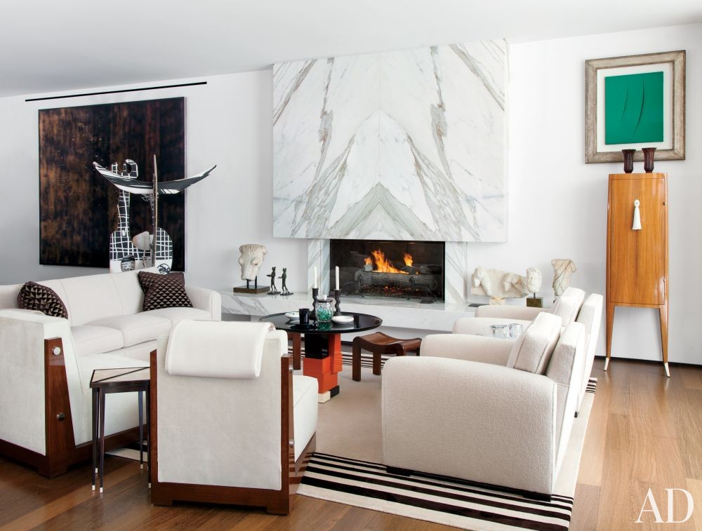 Contemporary Living Room by Waldo\'s Designs in Los Angeles, California