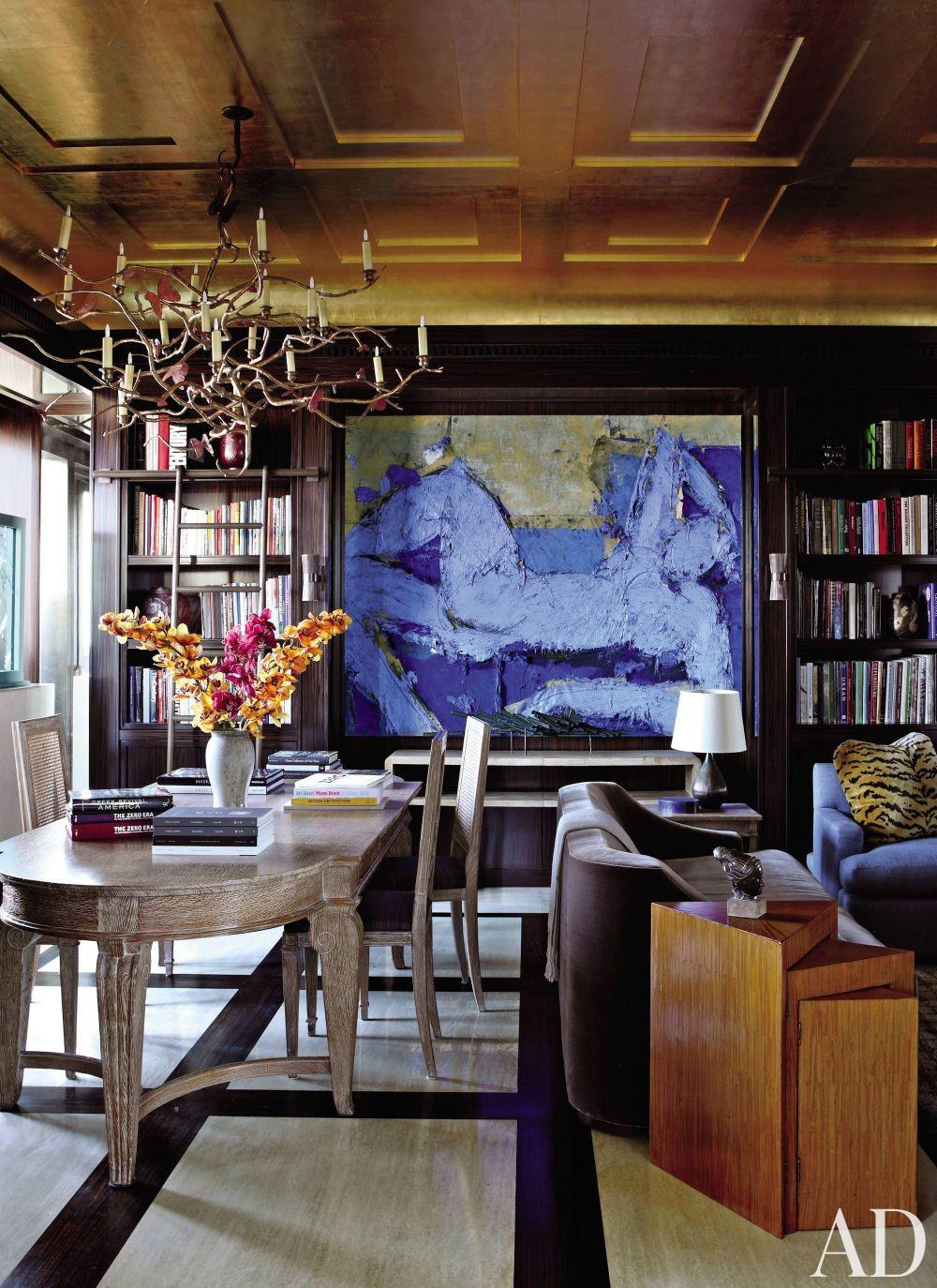 Contemporary Office/Library by Aparicio + Associates in New York City