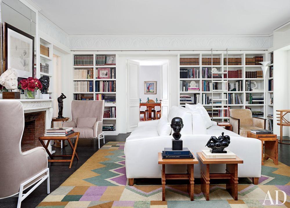 Contemporary Office/Library by Cesare Rovatti and Fabrizio Taliento and Simona Fabbrizi Formilli in Rome, Italy