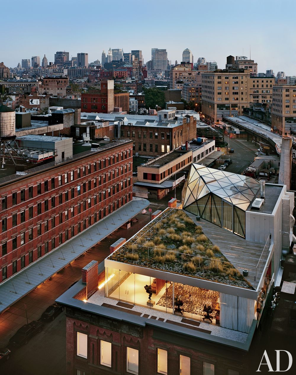 Contemporary Outdoor Space and WORKac in New York, New York