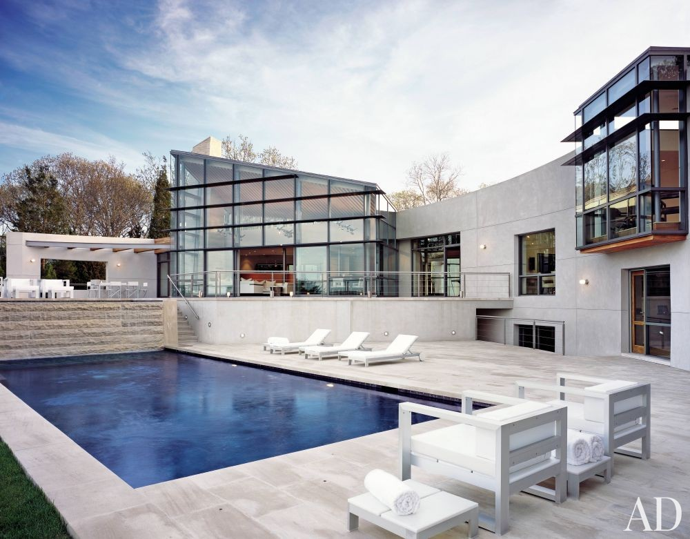 Contemporary Pool By Dineen Architecture Design By