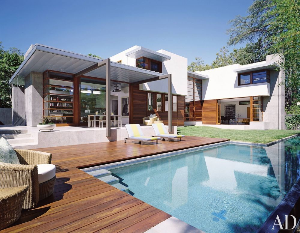 Contemporary Pool By Mike Witt By Architectural Digest