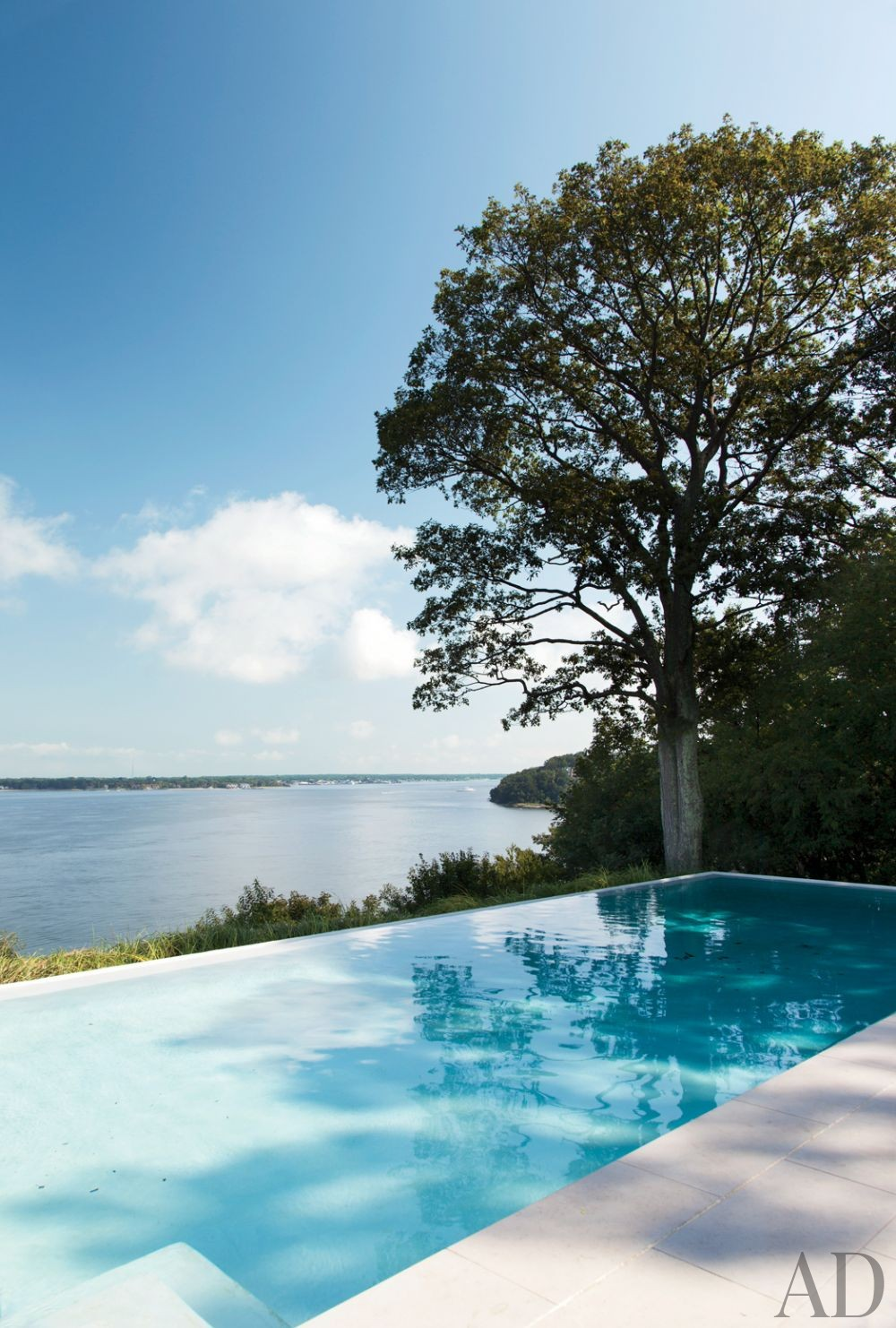 Contemporary Pool by Philip Galanes and Michael Haverland Architect in Shelter Island, New York