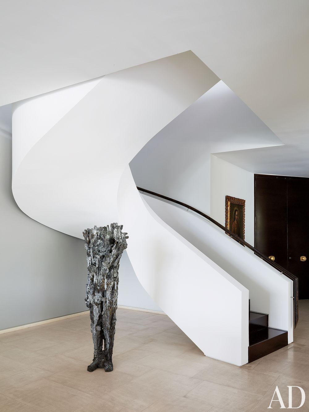 Contemporary Staircase/Hallway by Jean-Louis Deniot and Jean-Louis Deniot in Colombia