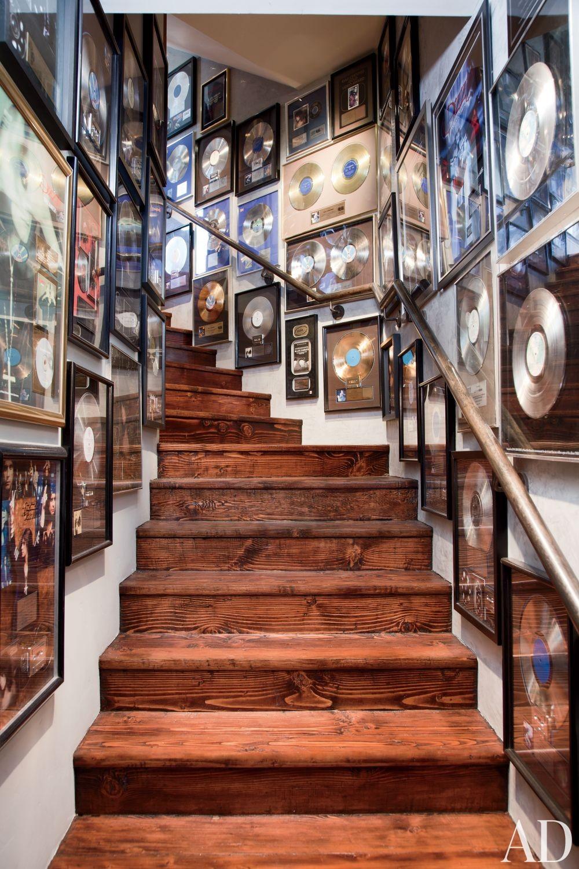 Contemporary Staircase/Hallway by Martyn Lawrence Bullard Design in Los Angeles, California