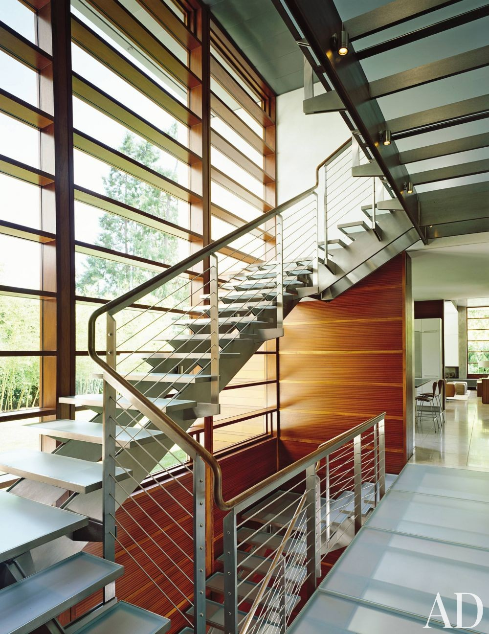 Contemporary staircase hallway by mike witt by for Alto design architects