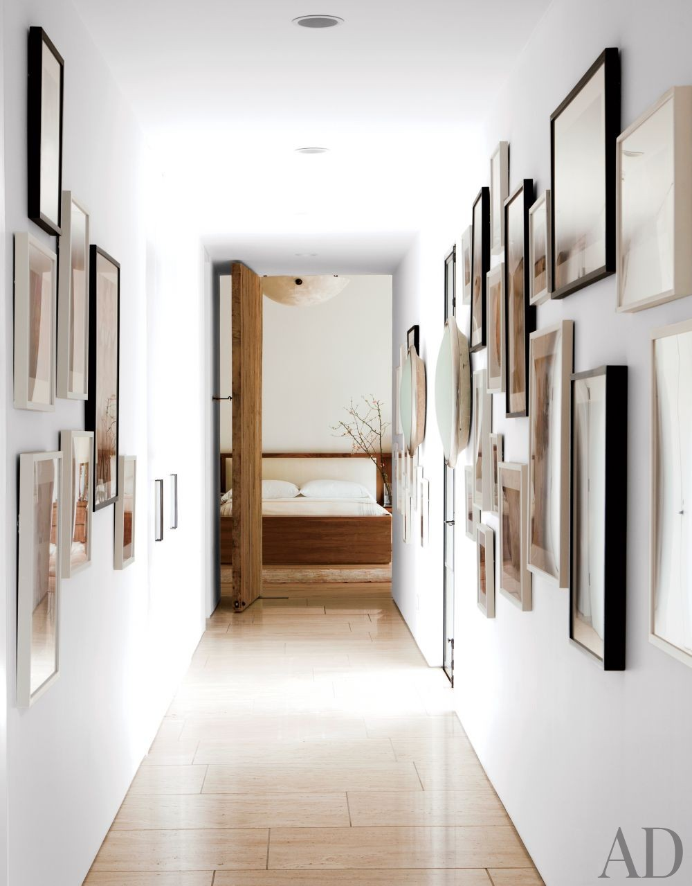 Contemporary Staircase/Hallway by Standard in Beverly Hills, California