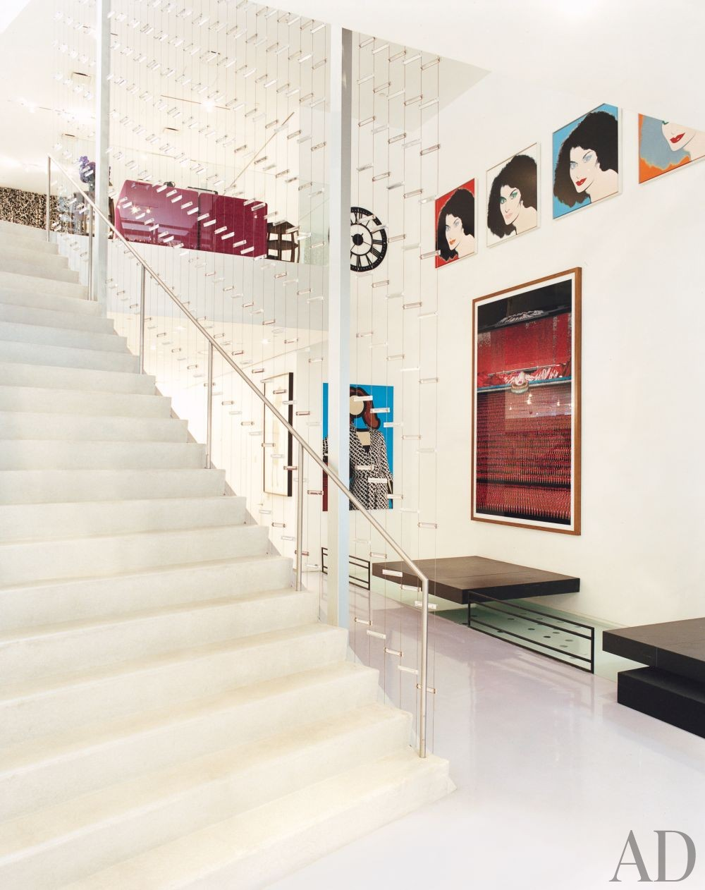 Contemporary Staircase/Hallway and WORKac in New York, New York