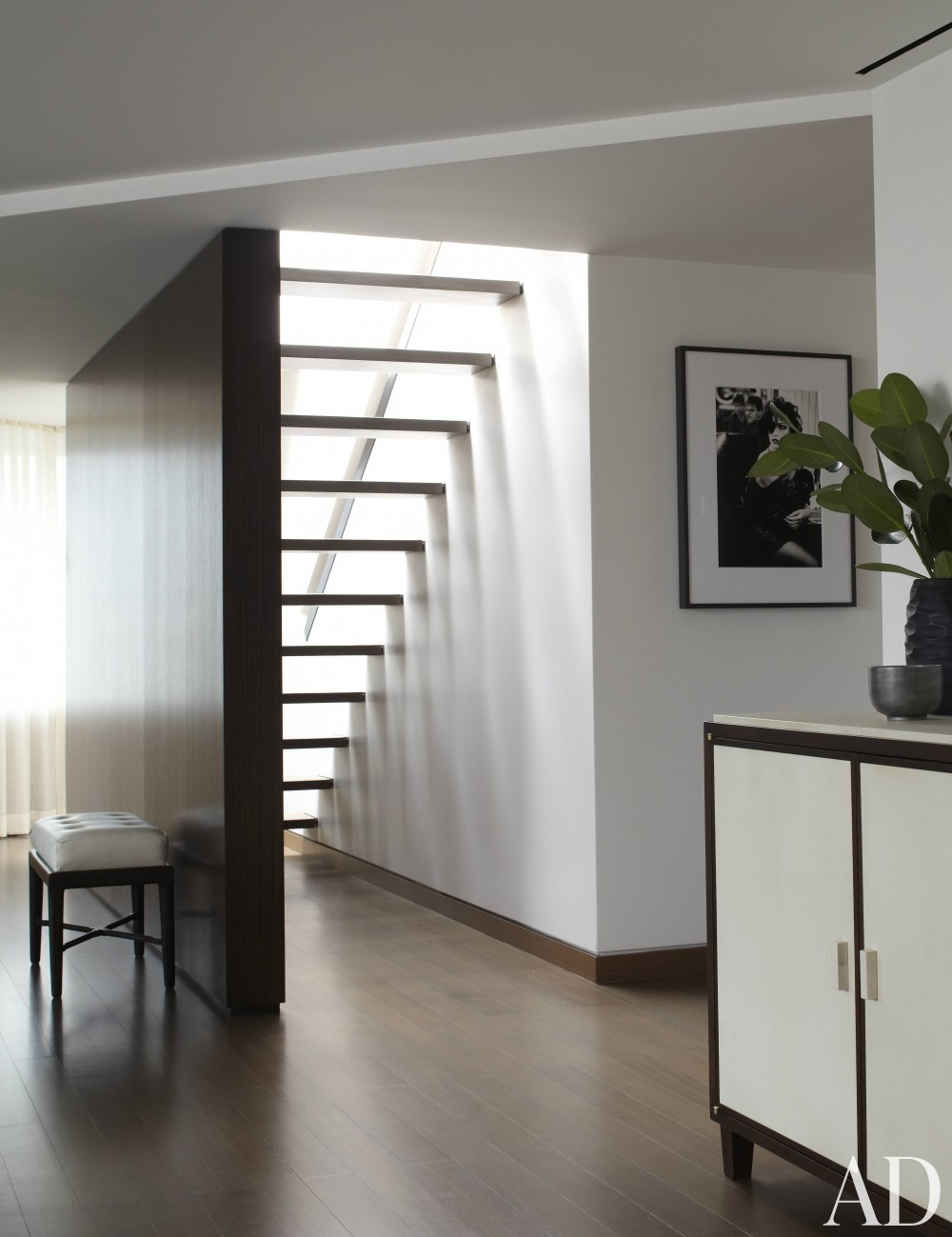 Contemporary Staircase/Hallway by S. Russell Groves and S. Russell Groves in New York, New York
