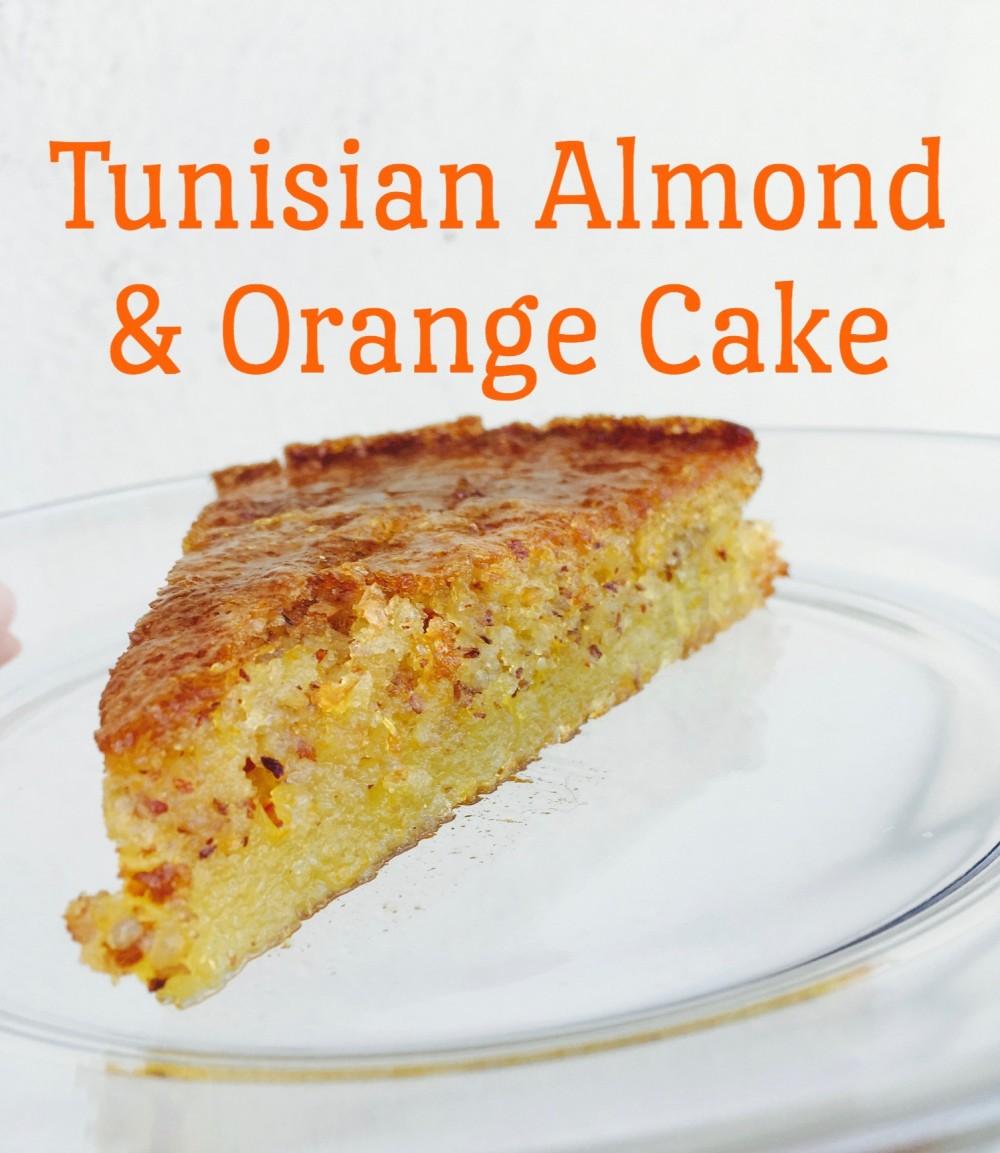Tunisian Orange Almond Cake