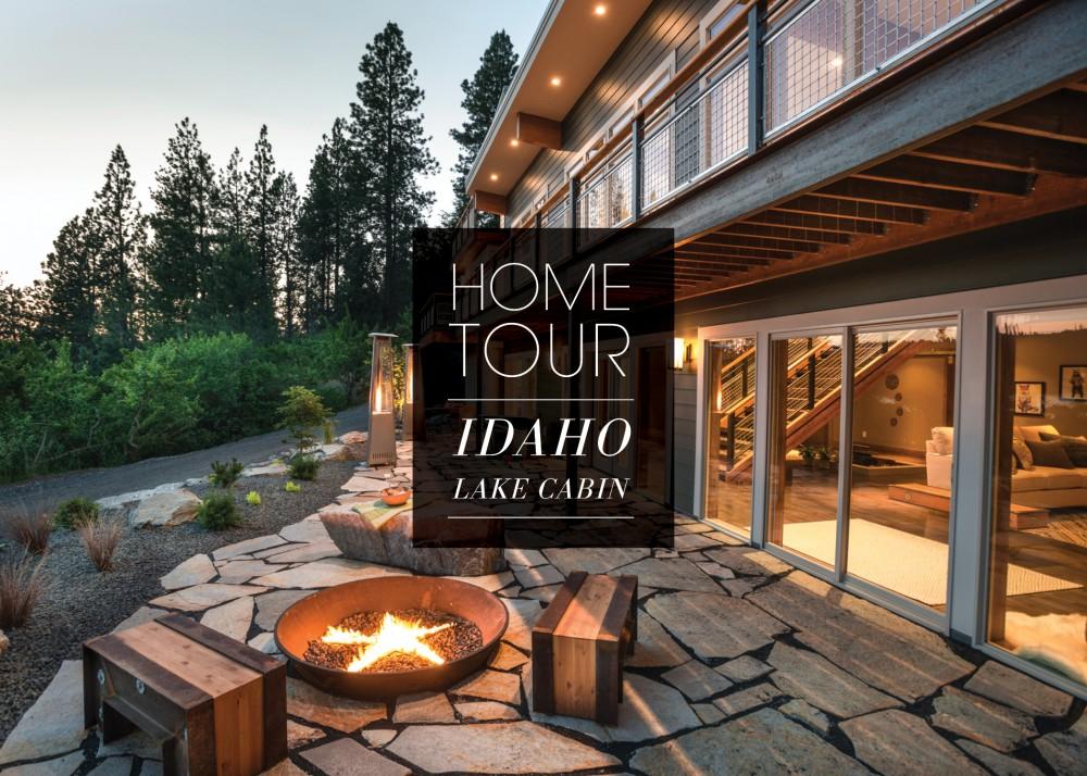 Idaho Lake Cabin Home Tour Kohler Ideas