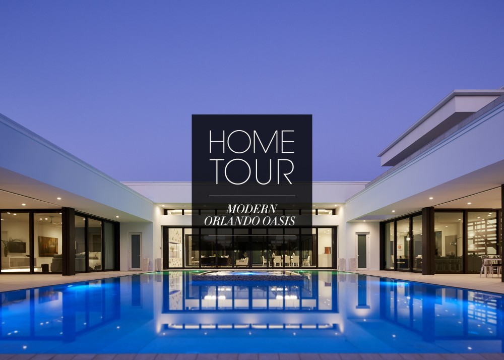 Modern orlando oasis home tour kohler ideas for Home video tours