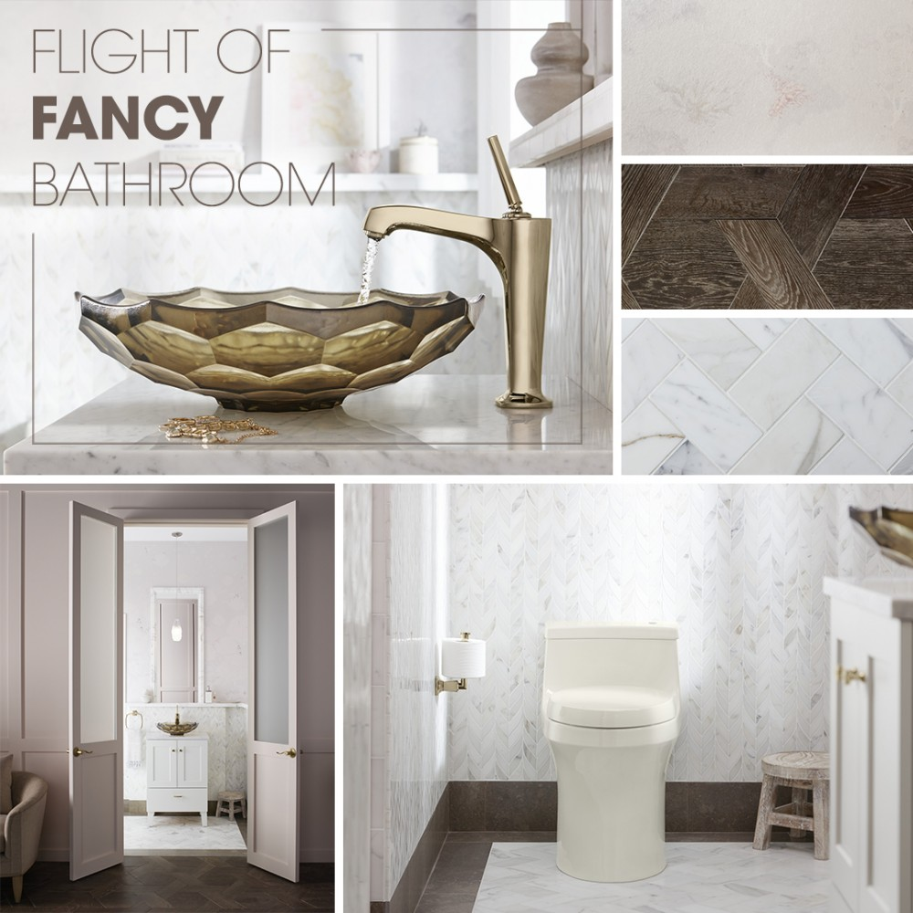 Flight of Fancy Bathroom | Kohler Ideas