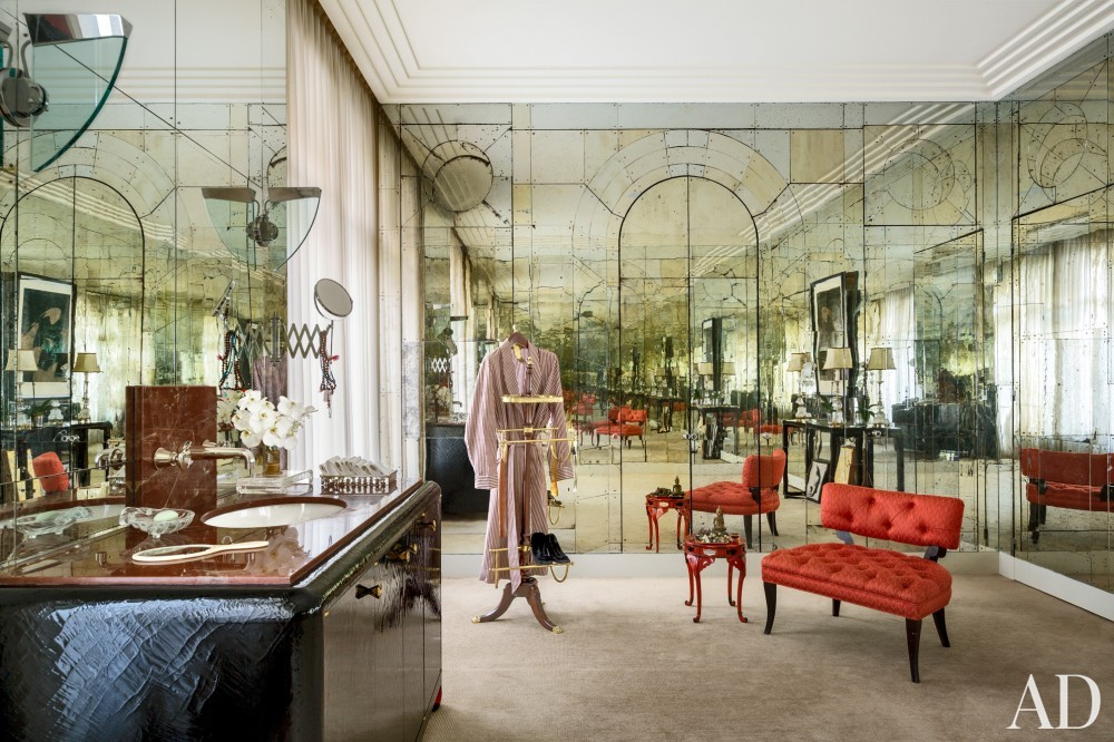 Exotic Bathroom by Linda Pinto in Paris, France