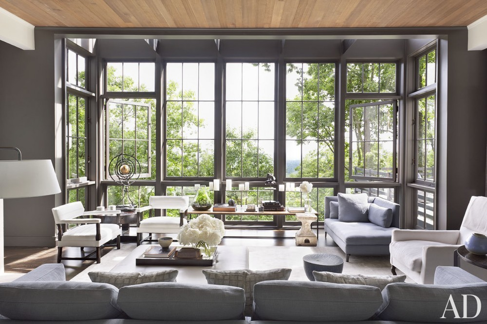 Modern Living Room by Ray Booth in Nashville, TN