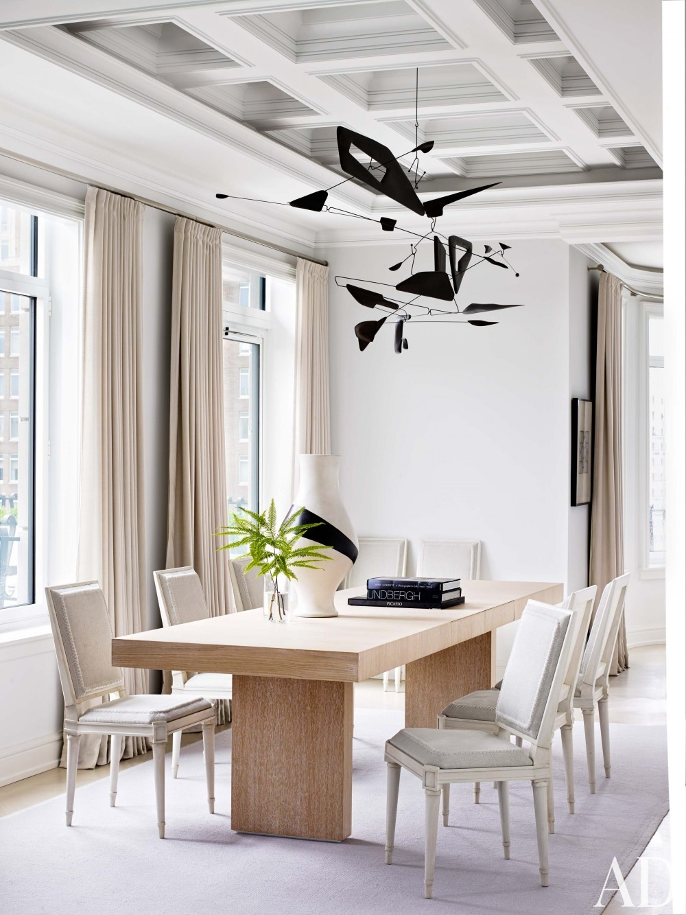Modern Dining Room and Shelton, Mindel & Associates in New York, NY